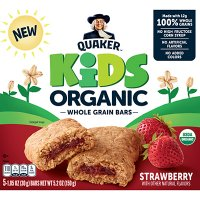 Quaker Kids Strawberry Organic Bars 5.2oz product image