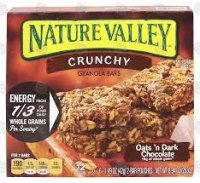 Nature Valley Crunchy Oats 'N Dark Chocolate Granola Bars 8.94oz product image