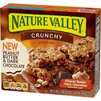 Nature Valley Peanut Butter Dark Chocolate Crunchy Granola Bars 8.94oz product image