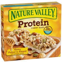 Nature Valley Protein  Honey, Peanut & Almond Nut Bars 7.1oz product image