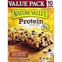 Nature Valley Peanut Butter Dark Chocolate Protein Chewy Bars - 14.2oz product image