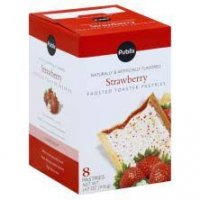 Store Brand Strawberry Frosted Toasted Pastries 14.7oz product image