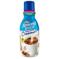 Blue Diamond Almond Breeze Unsweetened Original AlmondMilk Coffee Creamer - 1qt product image