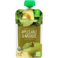 Happy Baby Clearly Crafted Stage 2 Apple Kale Avocado 4oz product image