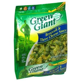 Green Giant Broccoli Cheese Sauce Family Size 24oz PKG product image