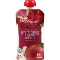 Happy Baby Clearly Crafted Stage 2 Apple Guava Beet 4oz product image