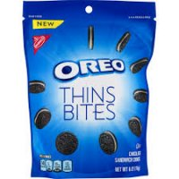 Oreo Thin Bites Chocolate Sandwich Cookies - 6oz product image