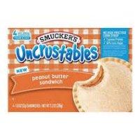 Smucker's Uncrustables Frozen Peanut Butter - 4pk product image