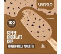 Yasso Frozen Greek Yogurt Coffee Chocolate Chip Bars product image