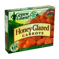Green Giant Carrots Honey Glazed 10oz PKG product image