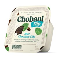 Chobani, Flip Mint Chocolate Chip Low-Fat Greek Yogurt 5.3 Oz. product image