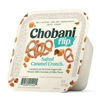 Chobani, Flip Salted Caramel Crunch Low-Fat Greek Yogurt, 5.3 oz product image