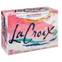 LaCroix Sparkling Water - Passionfruit, 12pk/12 fl oz Cans product image