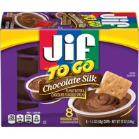 Jif To Go Chocolate Silk Peanut Butter & Chocolate Flavored Spread, 8 Count product image