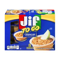 Jif To Go Crunchy Peanut Butter, 1.5 oz cups 8ct product image