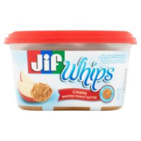 Jif Whips Creamy Whipped Peanut Butter Spread, 15-Ounce product image