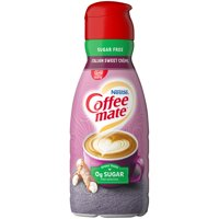 COFFEE MATE Sugar Free Italian Sweet Crème Liquid Coffee Creamer 32 fl. oz. Bottle product image