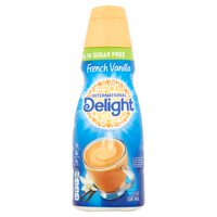 International Delight Sugar Free French Vanilla Coffee Creamer, 1 Quart product image