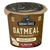 Kodiak Cakes Chocolate Chip Oatmeal in a Cup - 2.25oz product image