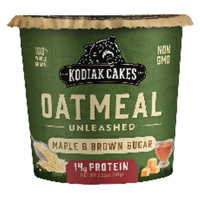 Kodiak Cakes Maple Brown Sugar Oatmeal in a Cup - 2.25oz product image