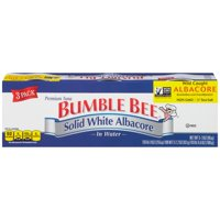 Bumble Bee Tuna Solid White Albacore in Water 3PK 3oz Cans product image