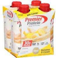 Premier Protein Shakes - Banana - 11 fl oz/4ct Bottles product image