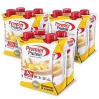 Premier Protein Shakes - Banana Cream - 11 fl oz/4ct Bottles product image
