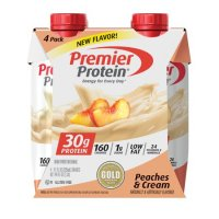 Premier Protein Shake - Peaches 'n Cream - 11 fl oz/4pk product image