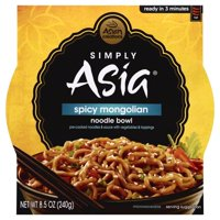 Simply Asia® Spicy Mongolian Noodle Bowl 8.5 oz. Sleeve product image