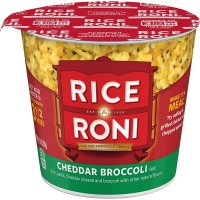 Rice-A-Roni Cheddar Broccoli Flavor, Microwaveable Cup, 2.11 oz product image
