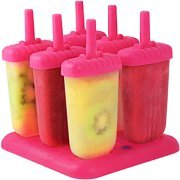 Popsicle Ice Mold Maker Set - 6 Pack BPA Free product image