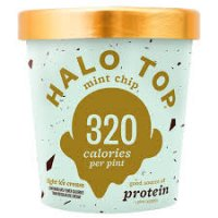 Halo Top Mint Chip Ice Cream - 16oz product image