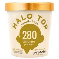 Halo Top Vanilla Bean Ice Cream - 16oz product image