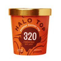 Halo Top Peanut Butter Cup Ice Cream - 16oz product image
