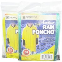 Disposable Rain Ponchos Adult product image