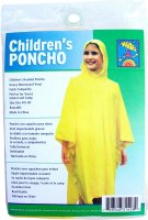 Disposable Rain Poncho Youth product image