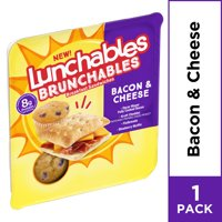 Lunchables Brunchables Bacon & Cheese Breakfast Sandwiches & Blueberry Muffin  2.7oz product image