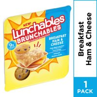 Lunchables Brunchables Ham & Cheese Breakfast Sandwiches & Blueberry Muffin, 2.7 oz product image