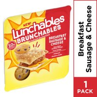 Lunchables Brunchables Sausage & Cheese Breakfast Sandwiches & Blueberry Muffin, 3 oz Tray product image