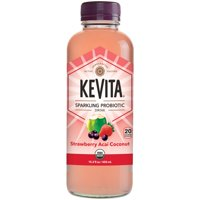 KeVita Strawberry Acai Coconut Sparkling Probiotic Drink, 15.2 Fl. Oz. product image