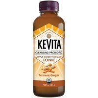 KeVita Cleansing Probiotic, Apple Cider Vinegar Tonic, Tumeric Ginger, 15.2 oz Bottle product image