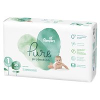 Pampers Pure Protection Newborn Diapers Size 1 35 Count product image