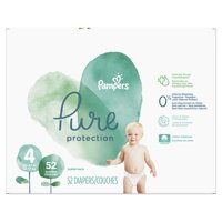 Pampers Pure Protection Diapers Size 4 52 Count product image