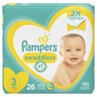 Pampers Swaddlers Diapers Size 3 26 Count product image