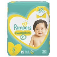 Pampers Swaddlers Diapers Size 5 19 Count product image