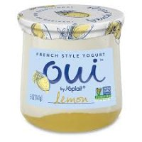 Oui by Yoplait Lemon Flavored French Style Yogurt - 5oz product image
