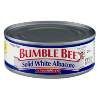 Bumble Bee Solid White Albacore Tuna in Oil 5oz Can product image