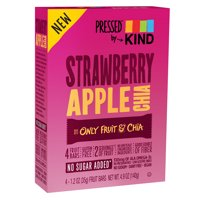 Pressed by KIND, Strawberry Apple Chia, 4 Bars product image