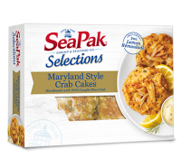 SeaPak Maryland Style Crab Cakes 2CT 8oz Box product image
