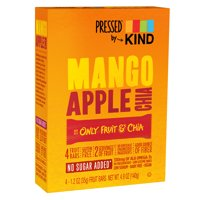 Pressed by KIND, Mango Apple Chia, 4 Bars product image